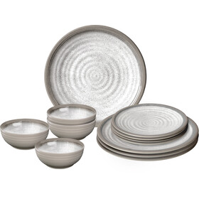Brunner Midday Set de platos, design savana